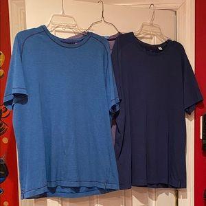 2 Robert Graham & 1 Boss shirts
